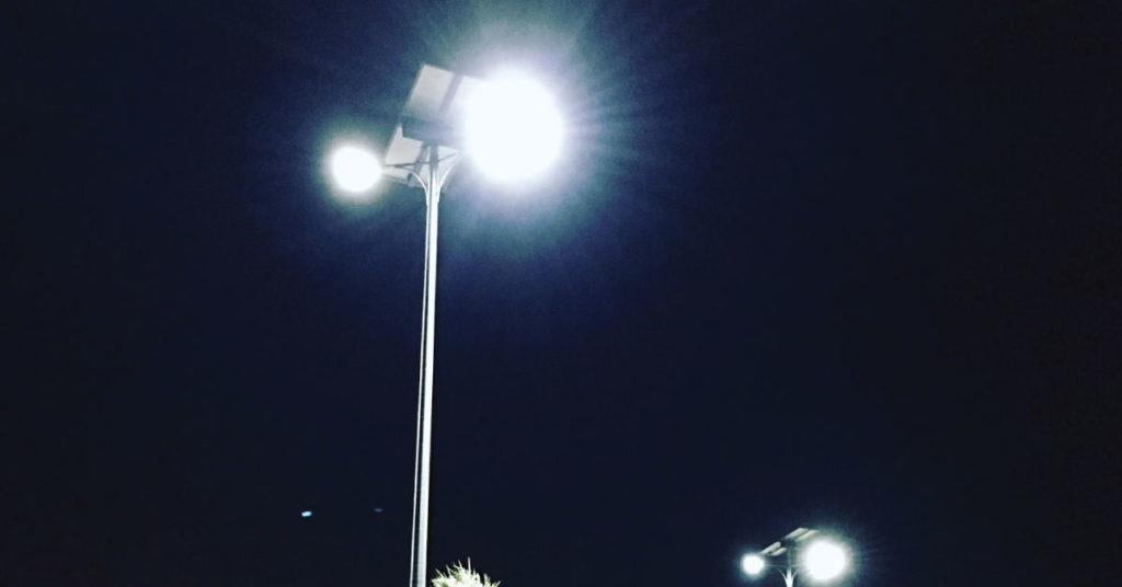 Features of Smart Solar Street Lighting