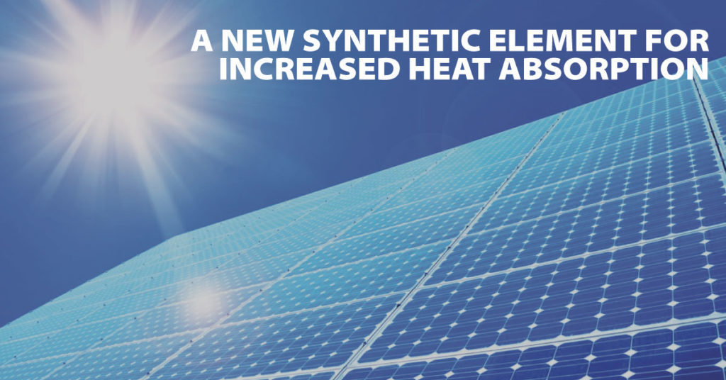 New Synthetic Element for Increased Heat Absorption