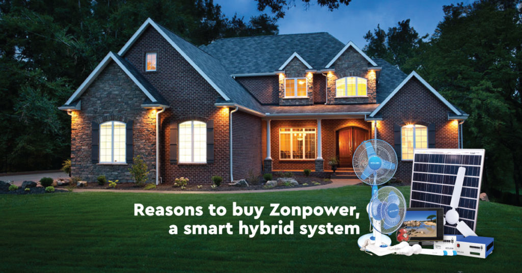 Reasons to buy Zonpower, a Smart Hybrid System
