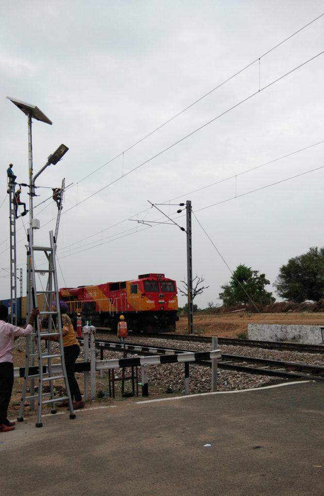 ZONSTREET CCTV SSL at Railway croosings,Rajasthan