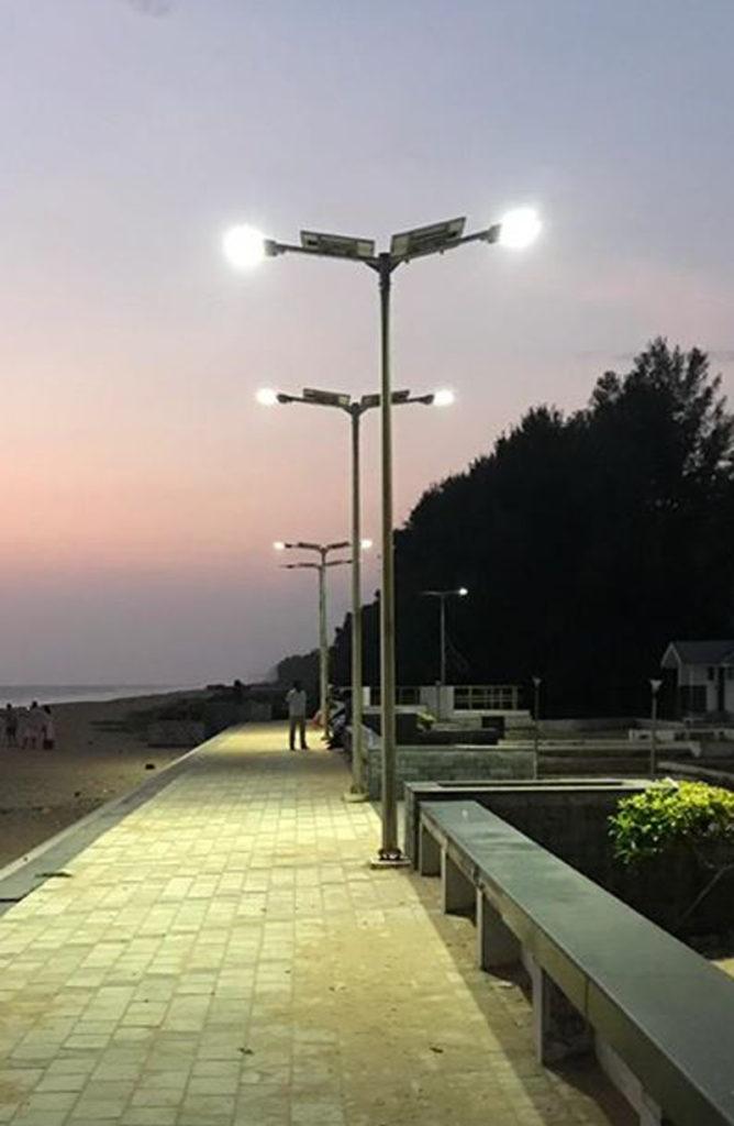 Zonstreet 30W installation in Kerela