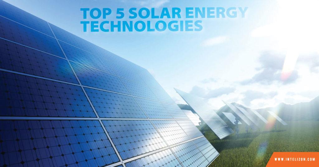 top-5-solar-energy-technologies