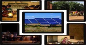 solar lighting in rural area