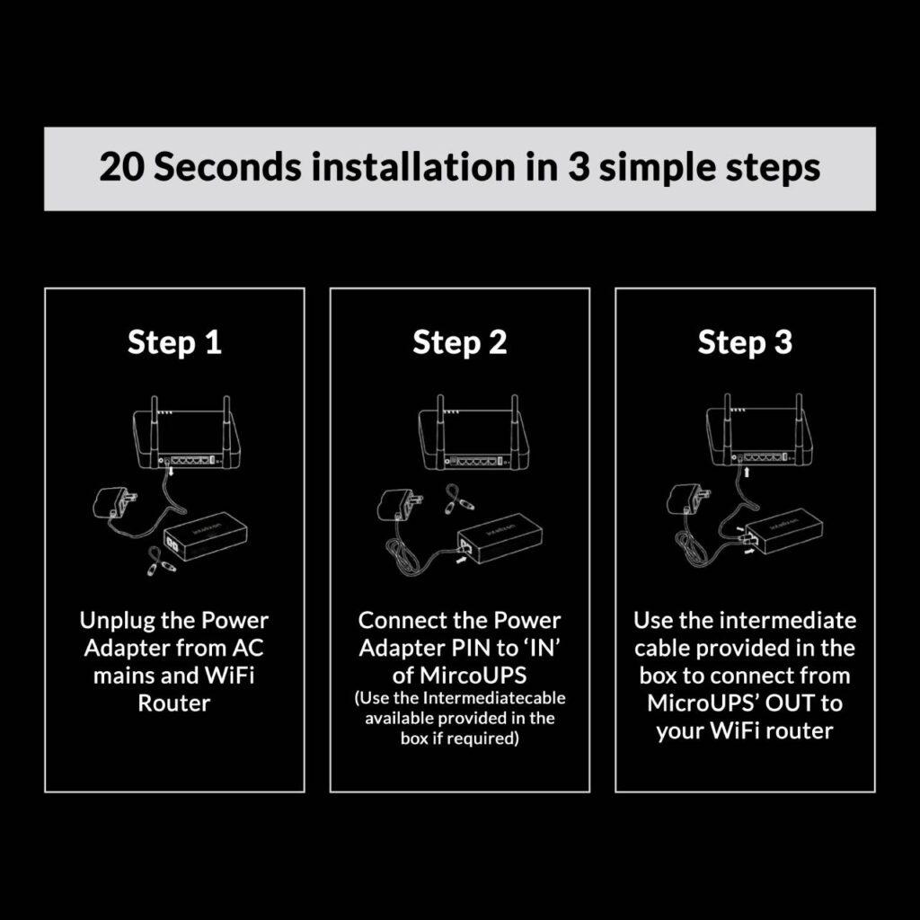 ups-instal