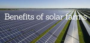 Benefits of Solar Farms